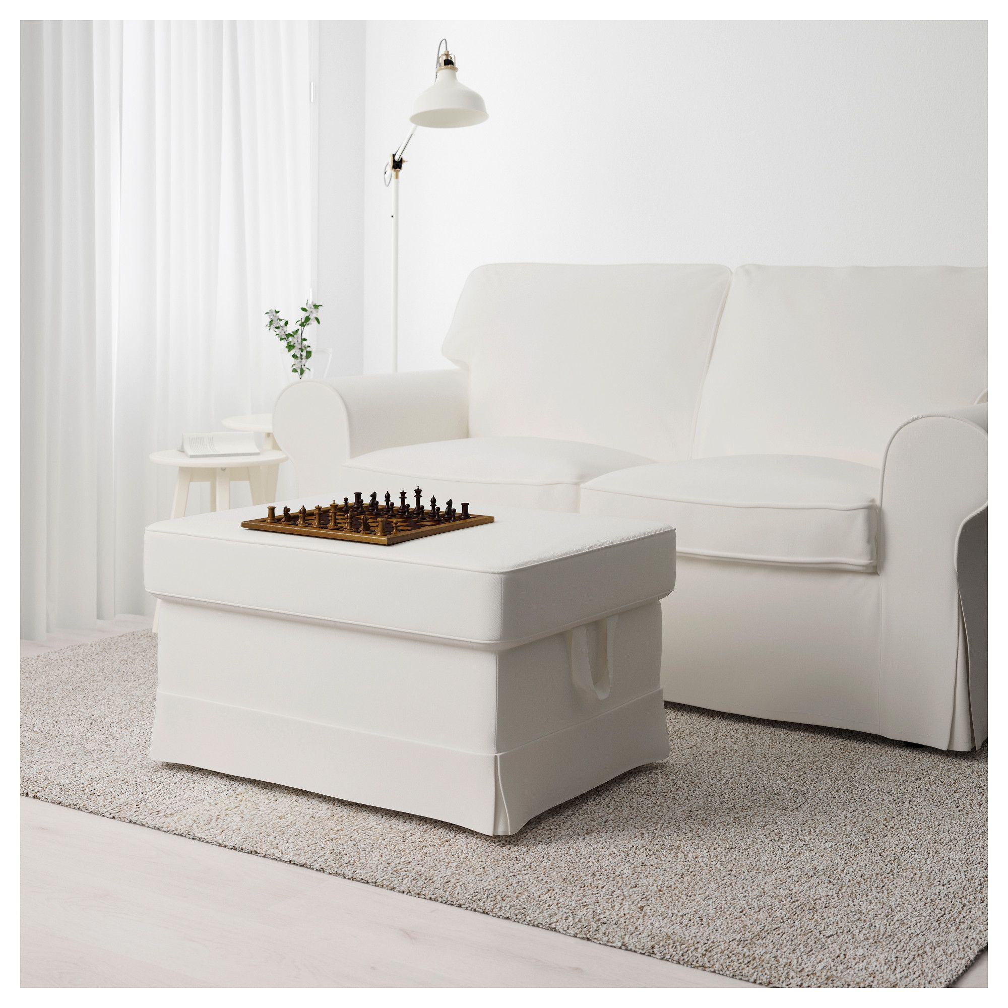 Ektorp Sofa Vittaryd White Ikea Ektorp Footstool Vittaryd White In 2019 Products Fodere