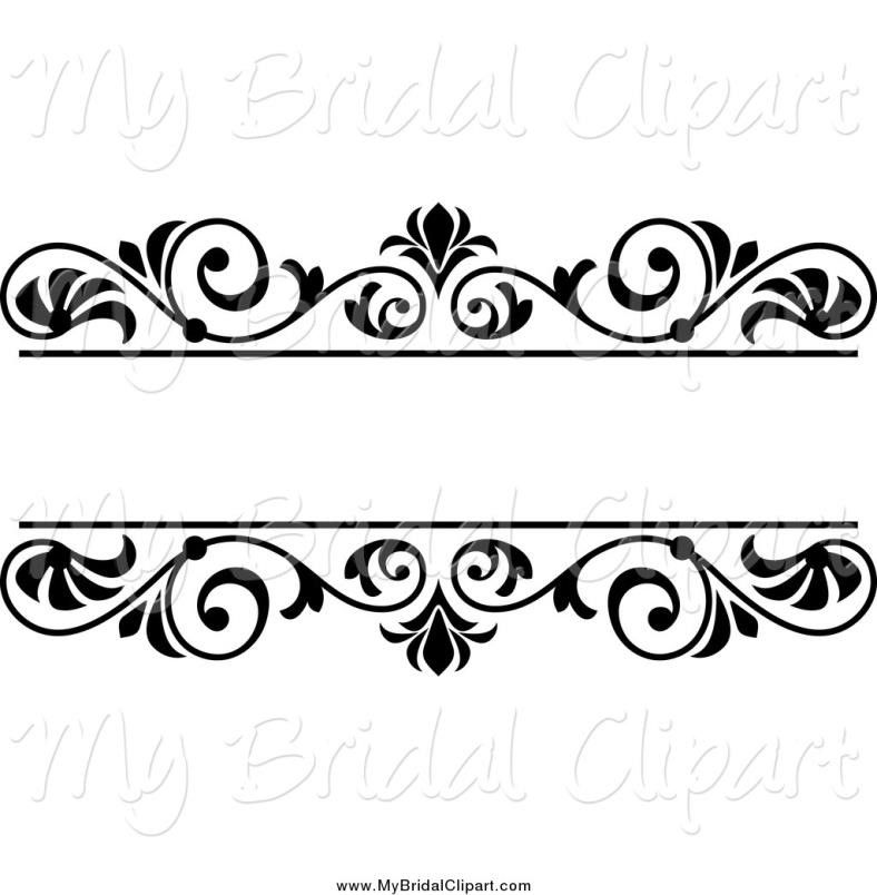 Wedding Card Line Art Designs : Wedding flowers clip art black and white cameo