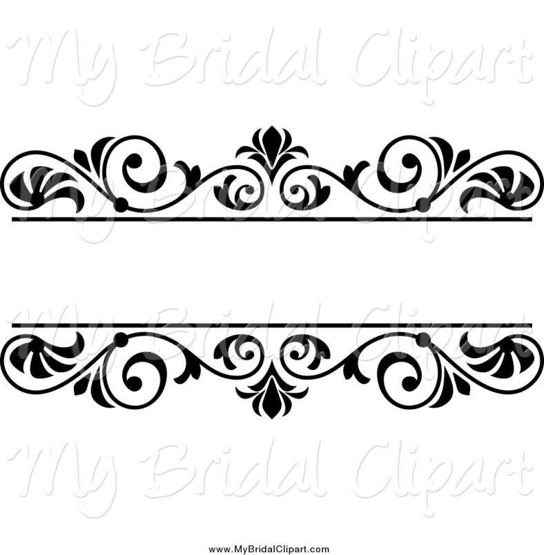 Wedding Card Design Line Art : Wedding flowers clip art black and white cameo