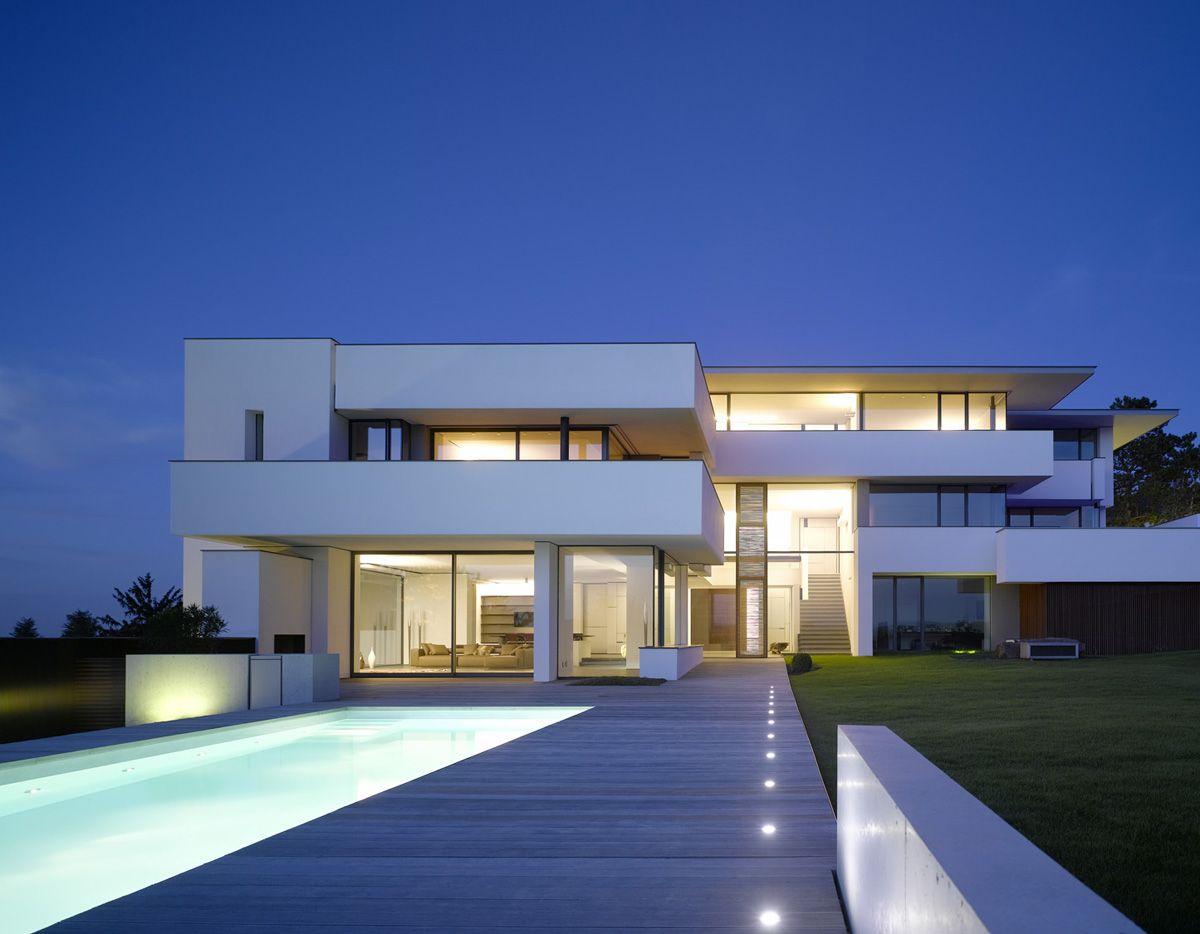 Alexander brenner villa oberen berg modern mansion modern homes residential architecture