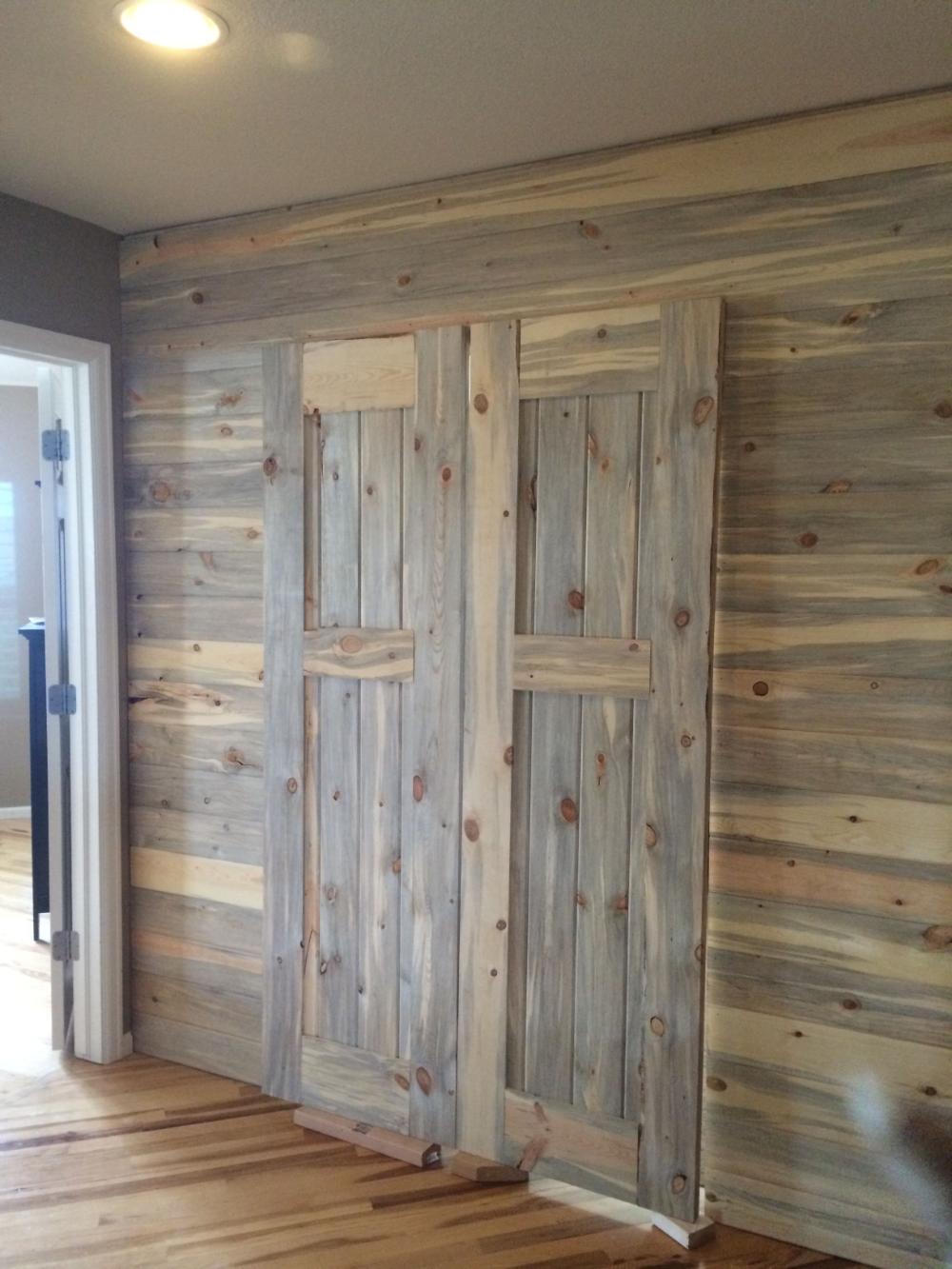 Gray Washing Tongue And Groove Pine Walls Google Search Kitchen Barn Doors Interior Sliding Barn Doors Wood Doors Interior