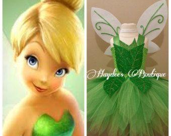 Tinkerbell Tutu Dress Disfras De Campanita Disfraz