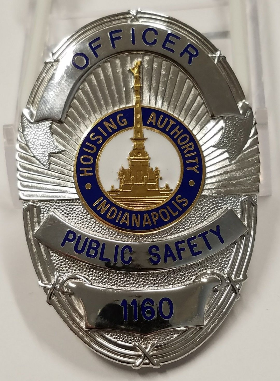 Us State Of Indiana City Of Indianapolis Housing Authority Police Department Badge Police Badge Fire Badge Badge