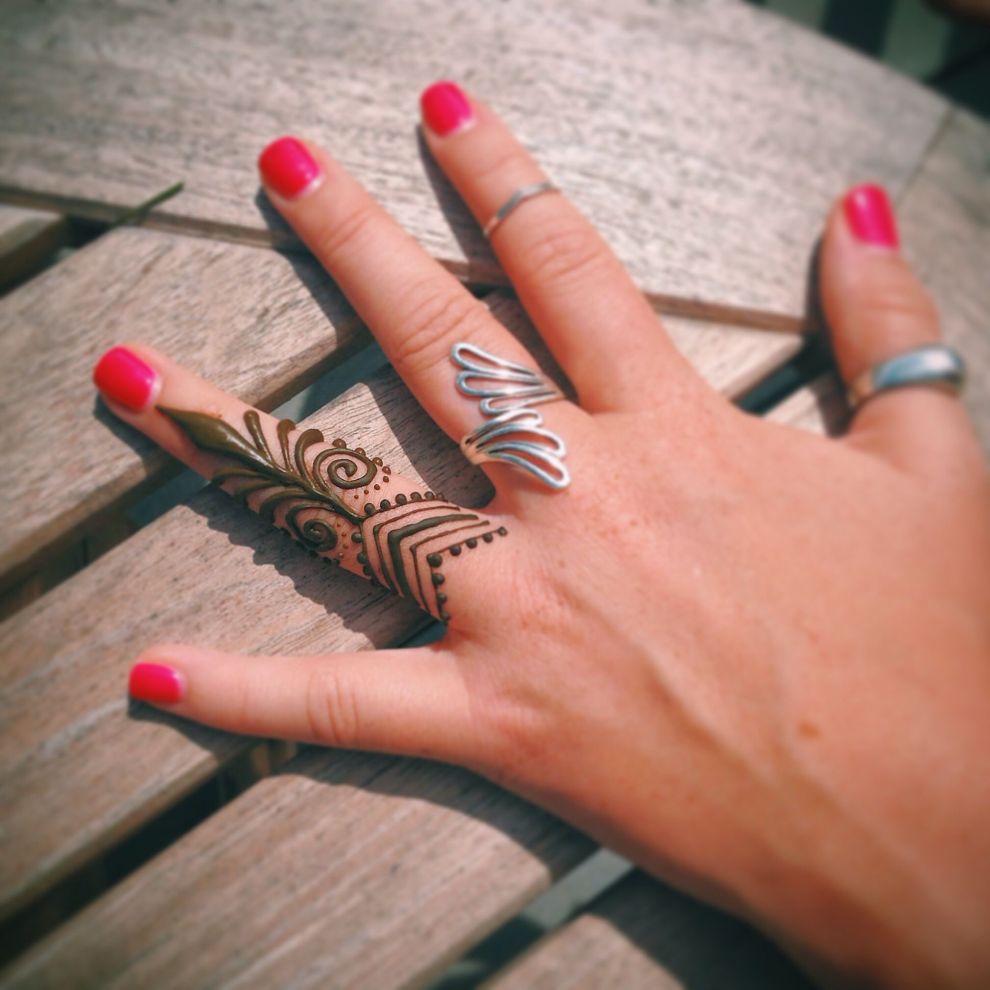 Henna Tattoo Ring Designs: Henna By Erin Malaspino. Finger Ring Piece.