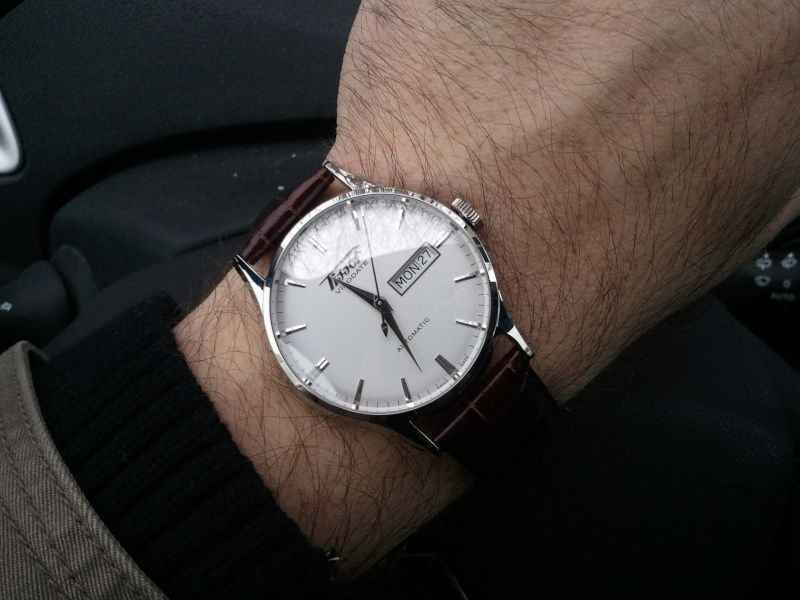 I always prefered the white verson of Tissot Visodate why