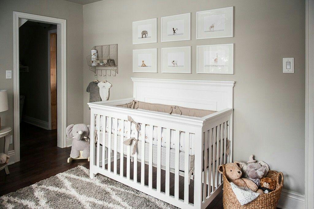 Brown Gray And White Nursery Boy Nursery Colors Grey Nursery