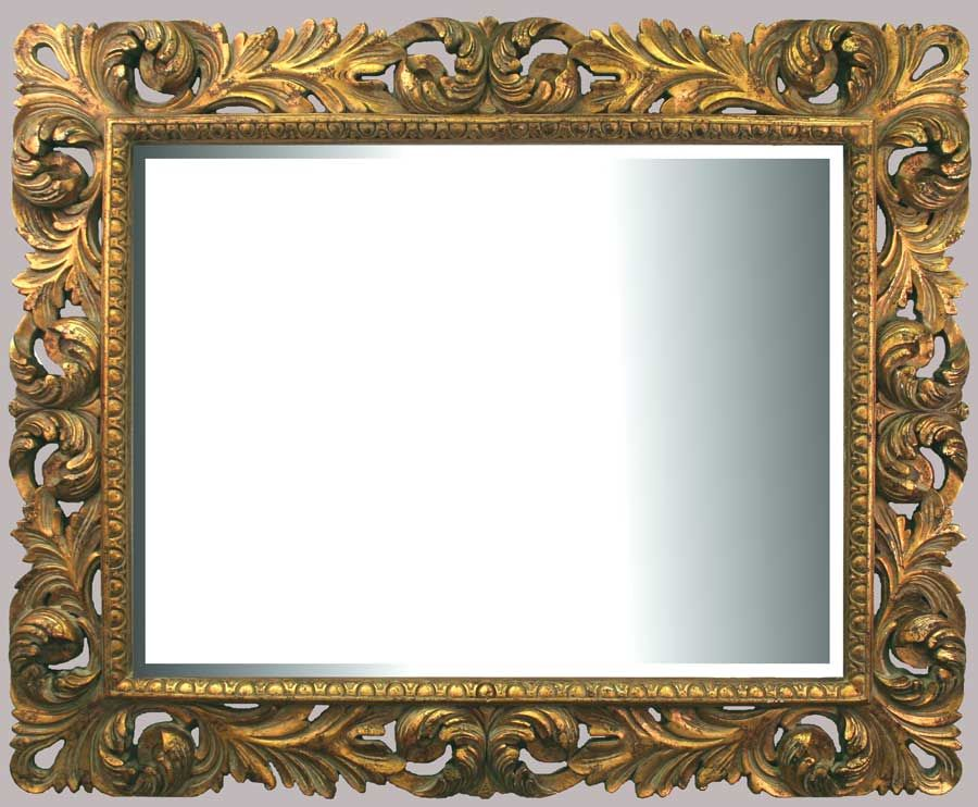 Wall Art In Mirror Frame : Classic and artistic mirror frame design wall