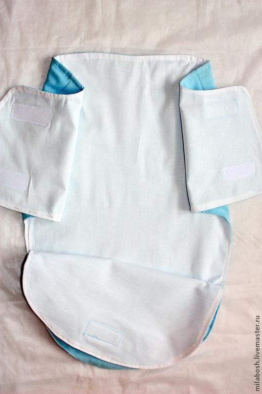 Выкройка пеленатора для новорожденного