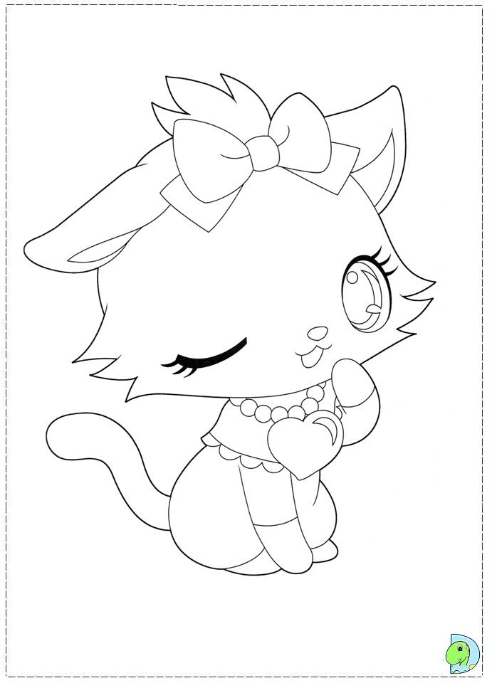 coloring page jewelpet pinterest coloring books and hero