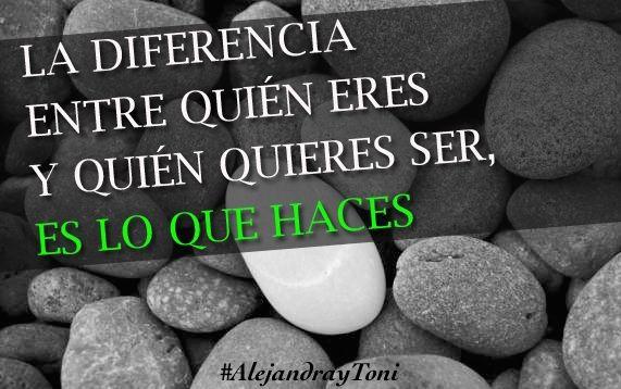 Haz lo que realmente quieres! #superate #tomaaccion