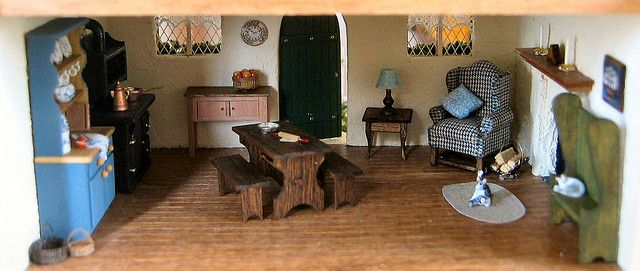Downstairs by Wyld_Hare, via Flickr-1:48 scale