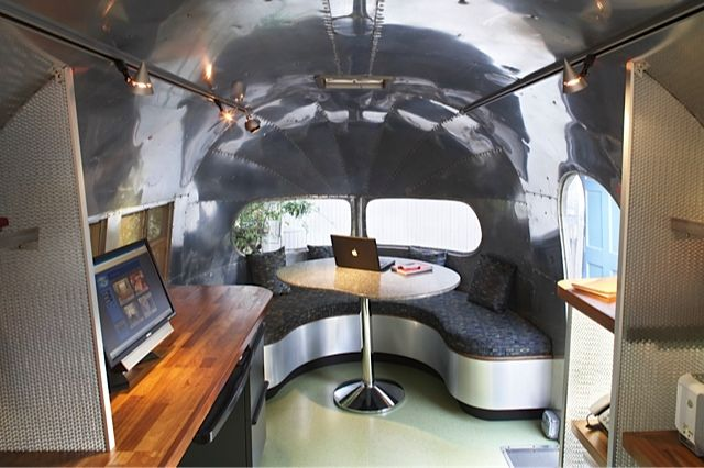 1951 Silver Streak Clipper Airstream Interior Vintage Travel Trailers Remodeled Campers