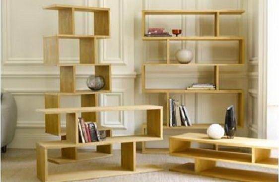 Open shelf in unique shape home pinterest open for Open shelves in living room