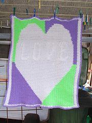 *Free Crochet Pattern: Ravelry: SmoothFox's Mystery Crochet-A-Long Baby Blankie  by Donna Mason-Svara