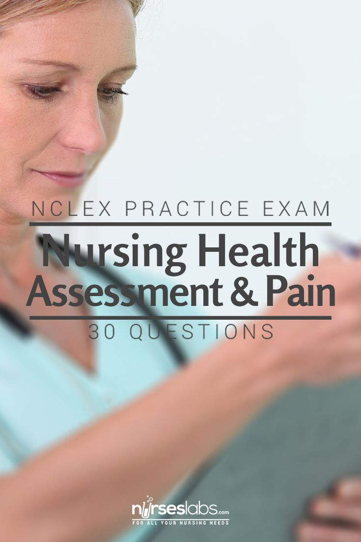 NCLEX Quiz: Nursing Health Assessment & Pain Practice Exam