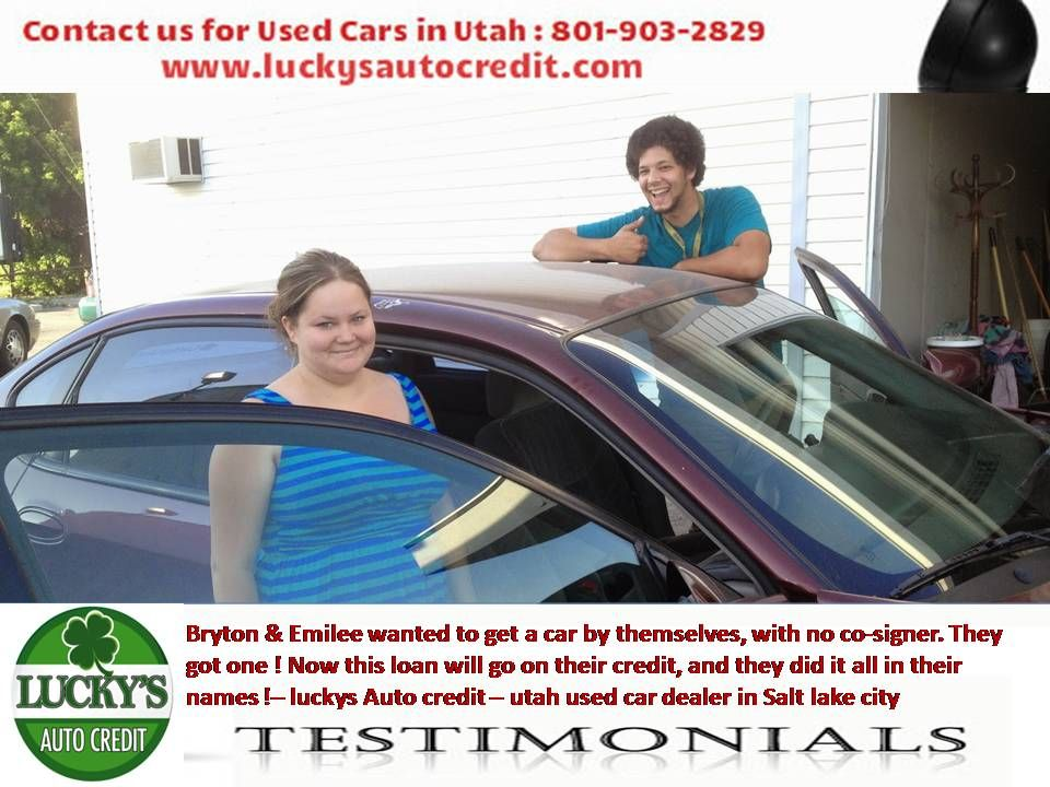 Used Cars Utah >> Lucky S Auto Credit Is A Buy Here Pay Here Dealership And Have Used