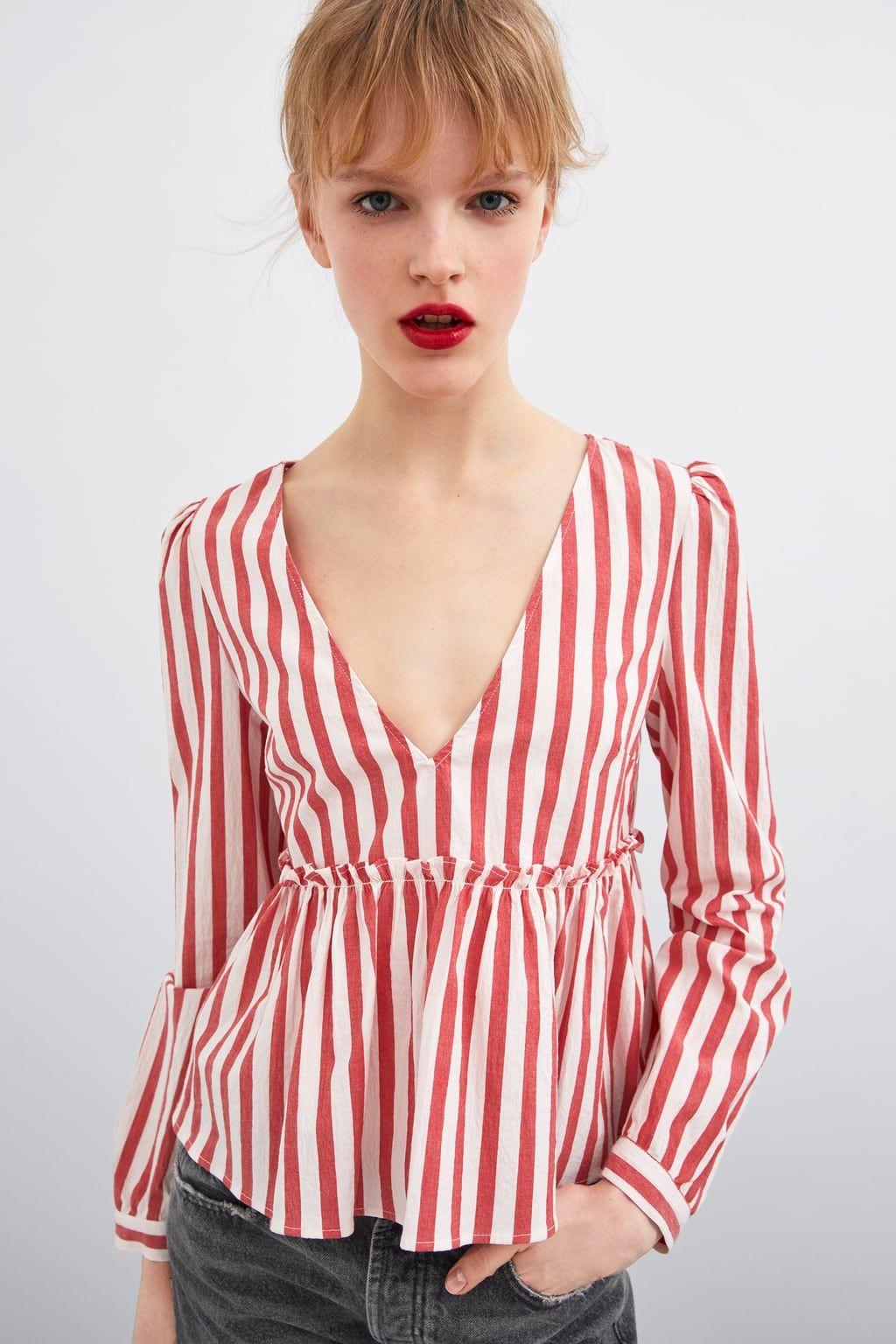 0d71490d77 Women's Shirts & Blouses | New Collection Online | ZARA Australia ...