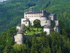 Salzburg Austria Castle Bing Images Hohensalzburg Castle Sits Atop The Festungsberg A Small Hill In T Hohenwerfen Castle World Most Beautiful Place Castle