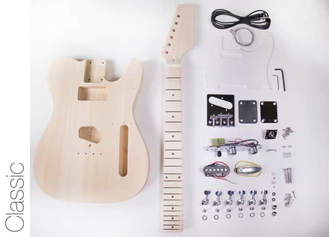 DIY DIY Electric Guitar Kit Tele Style Build Your Own Guitar