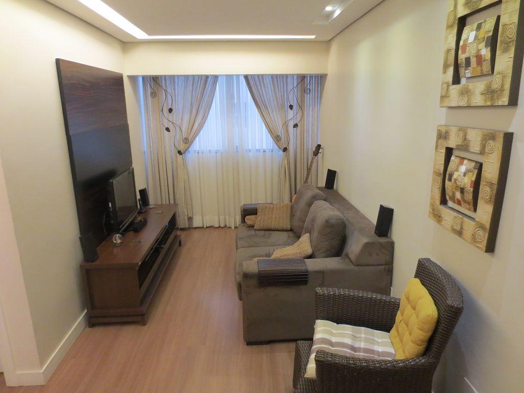 Sala piso laminado de madeira rodap s santa luzia for Pisos para apartamentos modernos