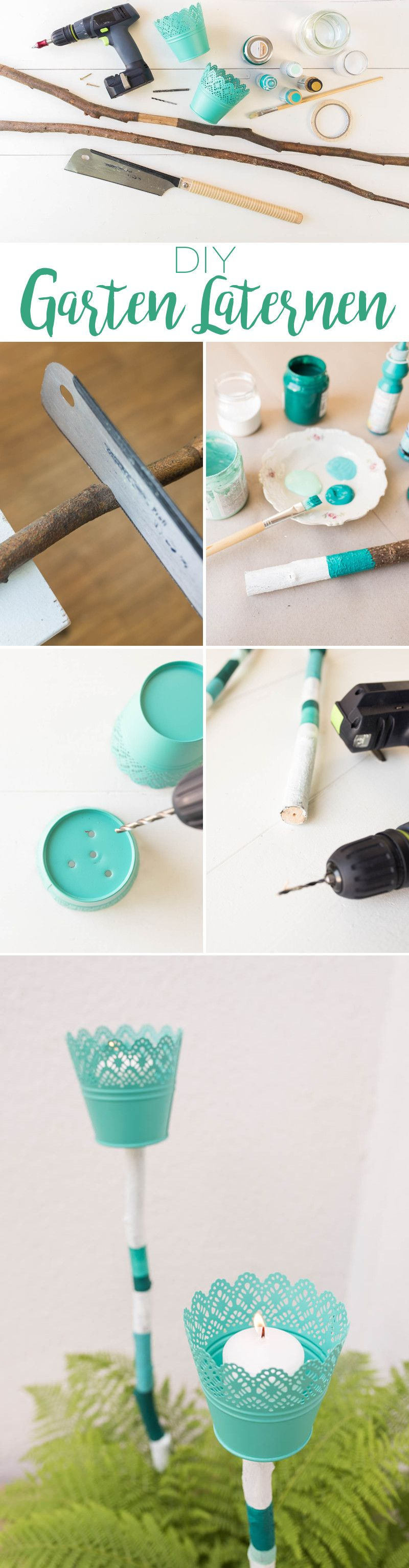 Photo of DIY – hagelanterner for planters av blomsterpotter og grener – Leelah Loves