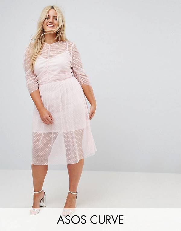 Plus Size Dresses Party Cocktail Formal Asos Thick Curvy