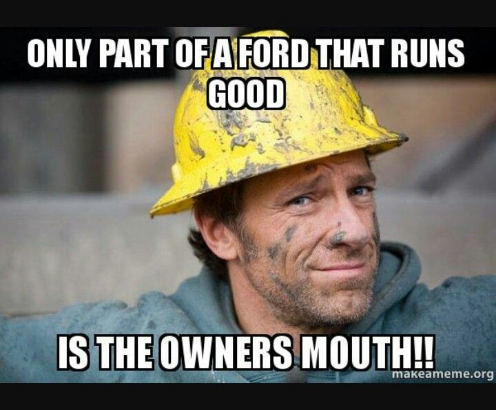 Haha Ford Owners Ford Humor Ford Jokes Chevy Jokes