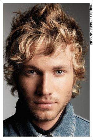 Beautiful Soft Blonde Curls Sandy Blonde Hair Blonde Guys Long Hair Styles Men