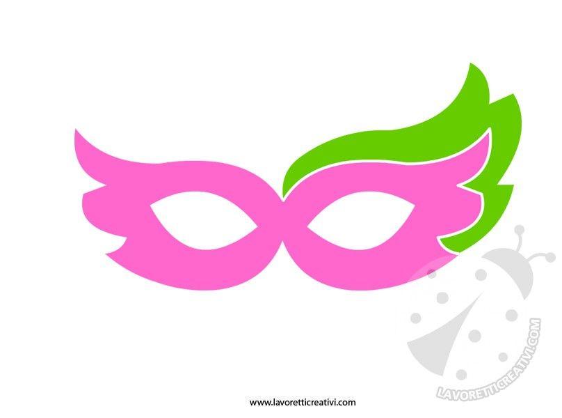 Maschere di carnevale da ritagliare 6 maschere pinterest for Maschere di animali di carnevale da colorare
