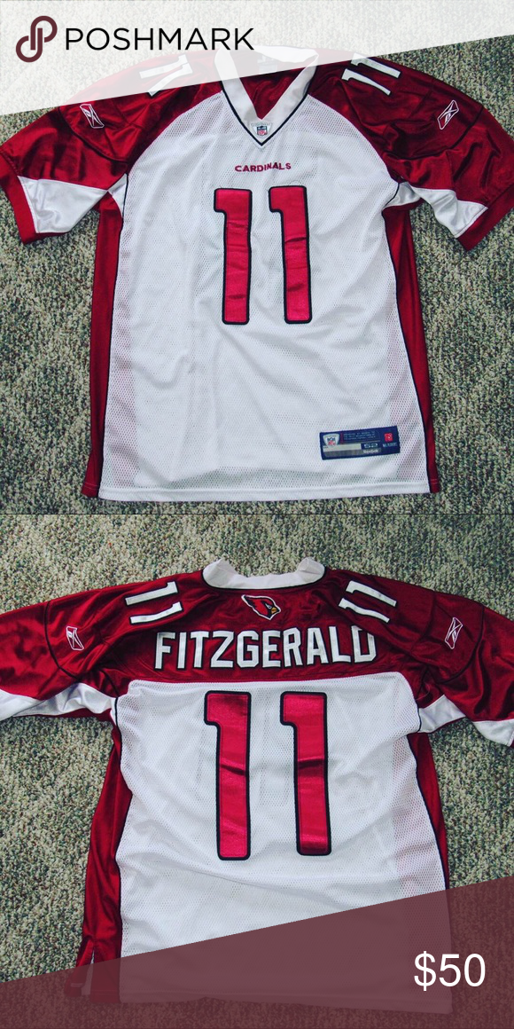 huge selection of ff592 0102e All Embroidered Larry Fitzgerald Jersey Larry Fitzgerald ...