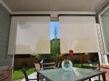 What Are Exterior Porch Shades This Post Takes An In Depth Look Blinds Design Shades Blinds Outdoor Blinds