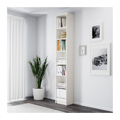 BILLY Boekenkast, wit | Bookcase white, Ikea billy and Wood veneer