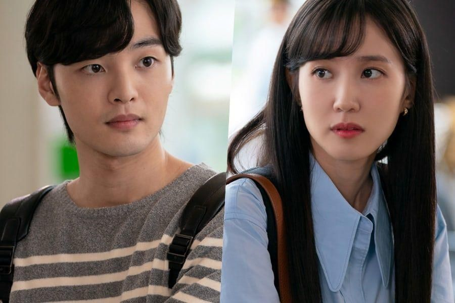 """Kim Min Jae And Park Eun Bin Are Shy As They Make Eye Contact In Upcoming Drama """"Do You Like Brahms?"""""""
