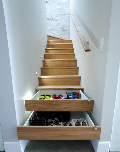Creative Storage Solutions   Creative Storage Solutions For The Space-Challenged - HotPads Daily
