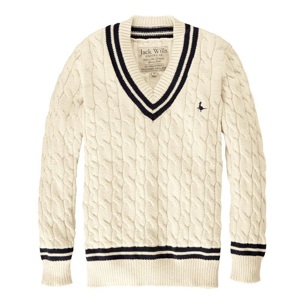 da3818e92c63 Inspired by traditional cricket knitwear