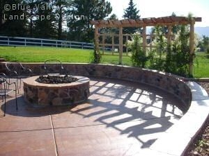 outdoor fire pit by marlene