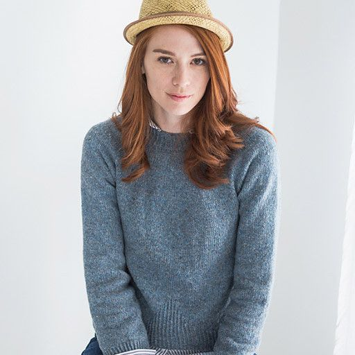 WP 8, Gable Pullover Pattern – Knit Purl