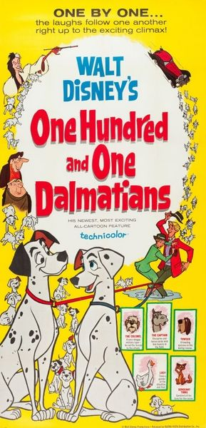 One hundred and one Dalmatians Disney dieulois