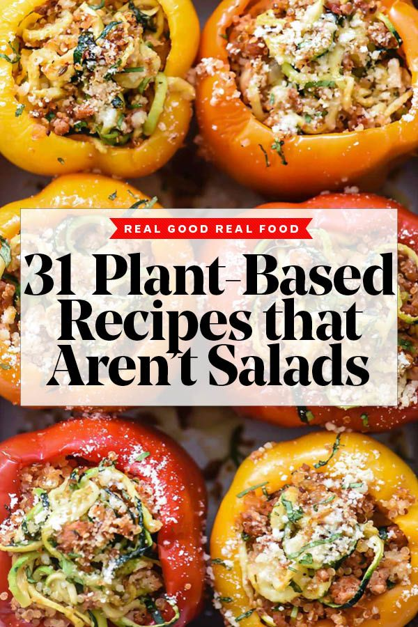 31 Plant-Based Recipes That Aren't Salads | foodiecrush .com
