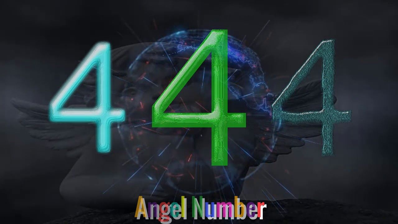 Angel Number 444 Meanings numerologynumber4meaning seeing symbols