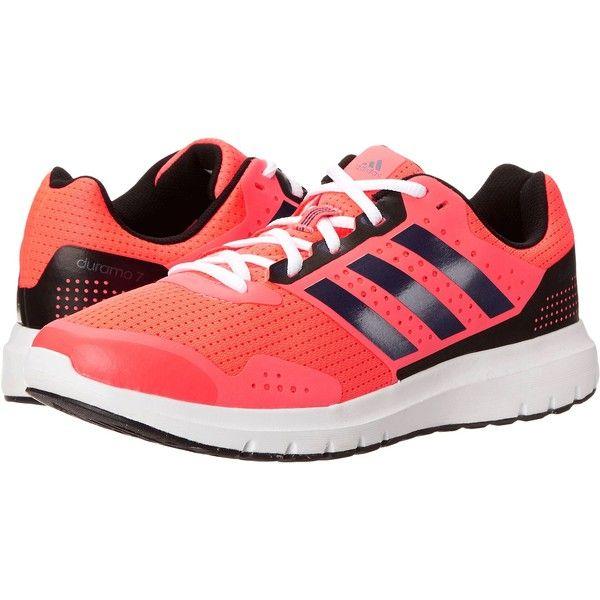 Adidas corriendo Duramo 7 (flash rojo / Midnight INDIGO / negro) de la mujer