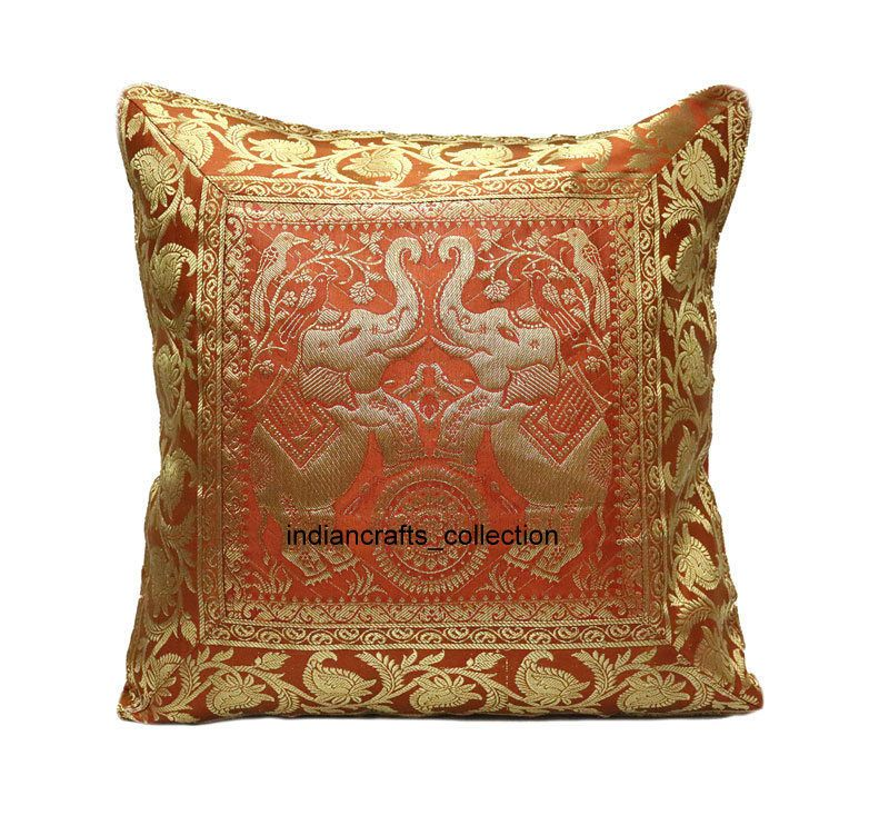 Brocade Home Decor Decoration details about indian handmade art brocade silk home decor sofa