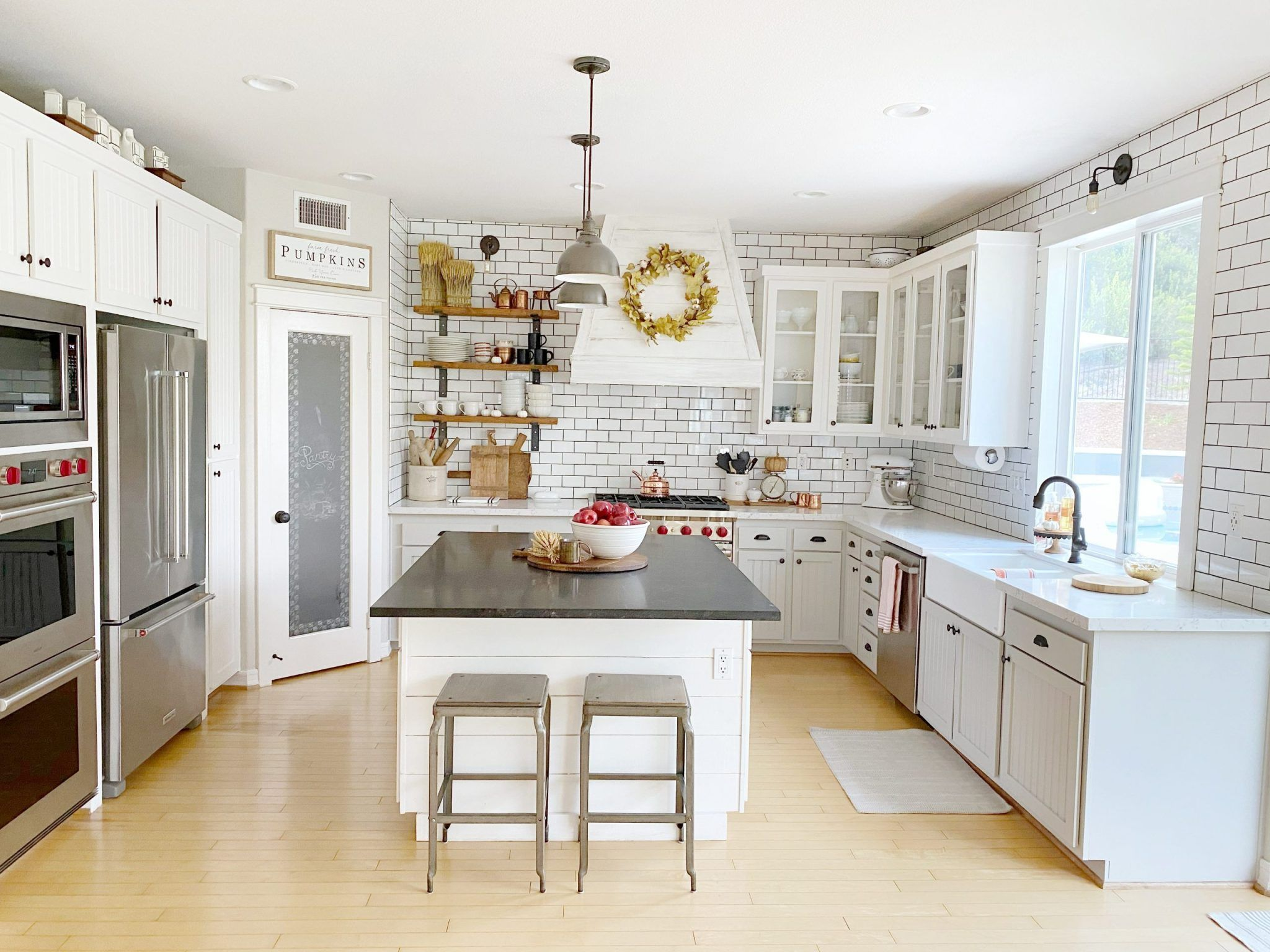 We Did A Kitchen Remodel But In A Backwards Way Kitchen Remodel Home Kitchens Kitchen Inspirations