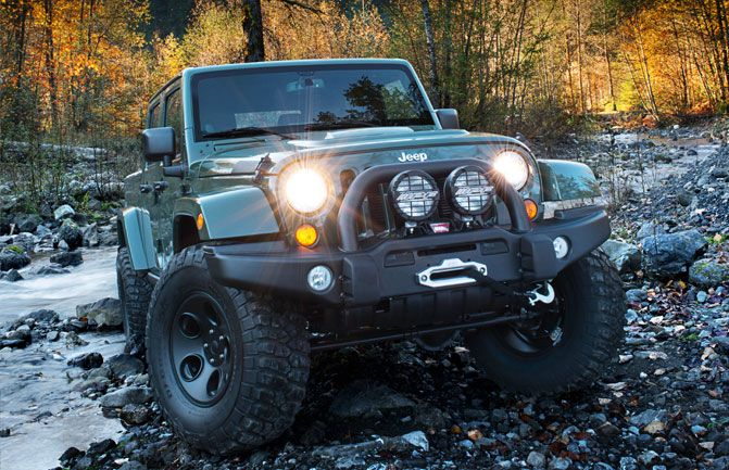 American Expedition Vehicles Brute Double Cab Filson Edition