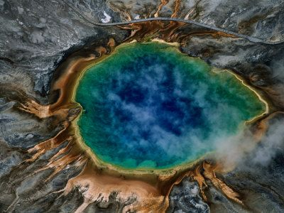 Yellowstone Grand Prismatic Spring. Done! July 2011. And it was spectacular!