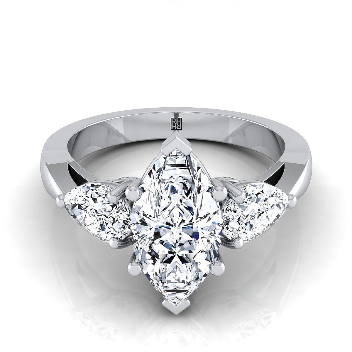Pin on ThreeStone Engagement Rings
