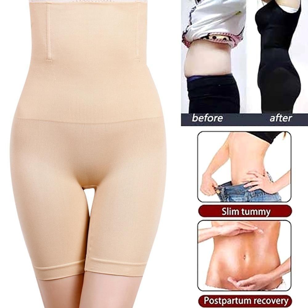 Women High Waist Wasit Trainer Butt Lifter Tummy Control Body Shaper Pants Slim