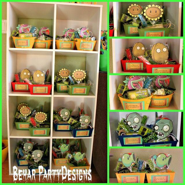 Plants Vs. Zombies Birthday Party Ideas