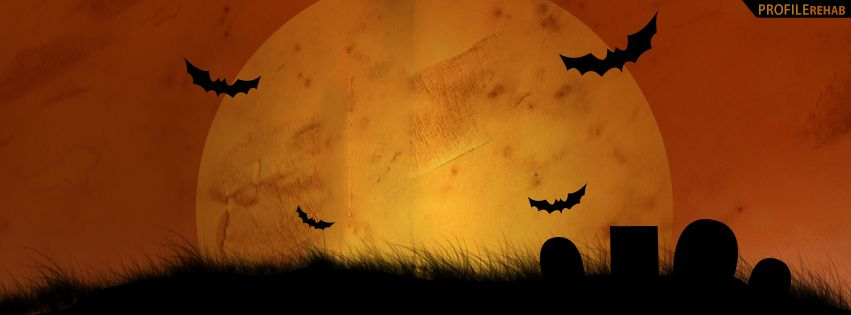 Halloween Cemetery Facebook Cover Halloween Banner Free Images