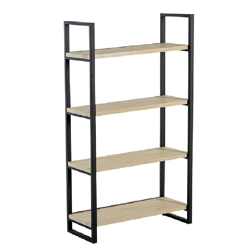 etagere bois et fer. Black Bedroom Furniture Sets. Home Design Ideas